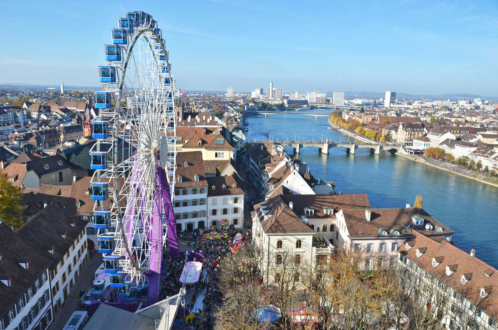 Traditional autumn fair in Basel