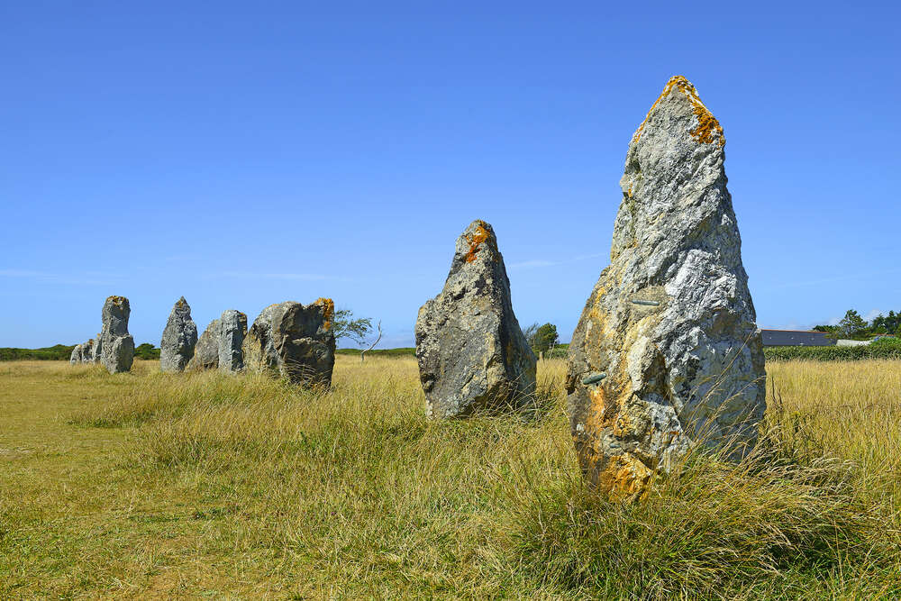 carnac stone lines