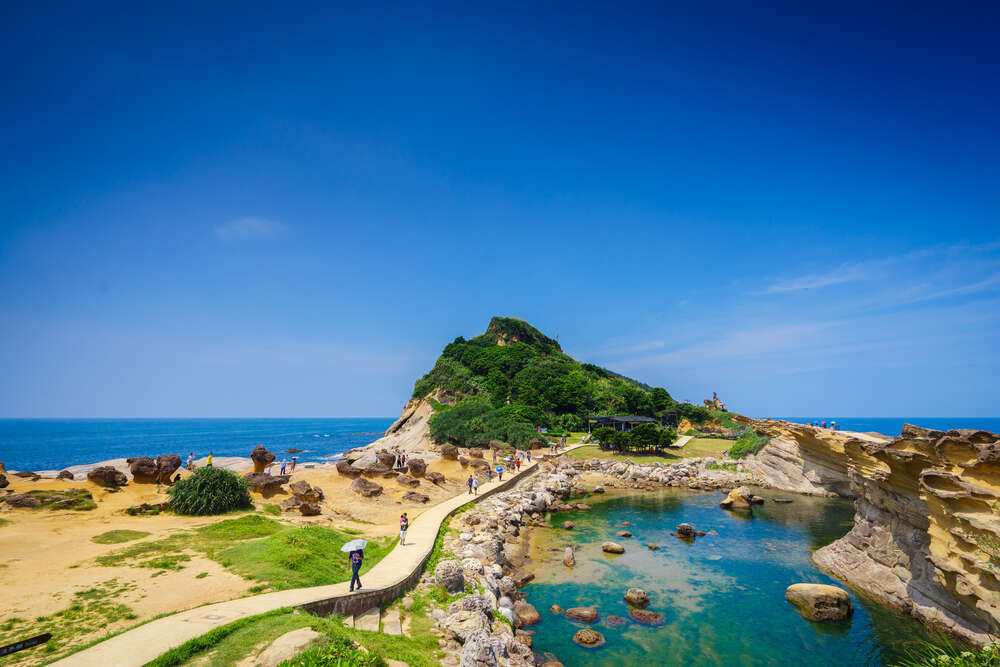 The Yehliu Geopark
