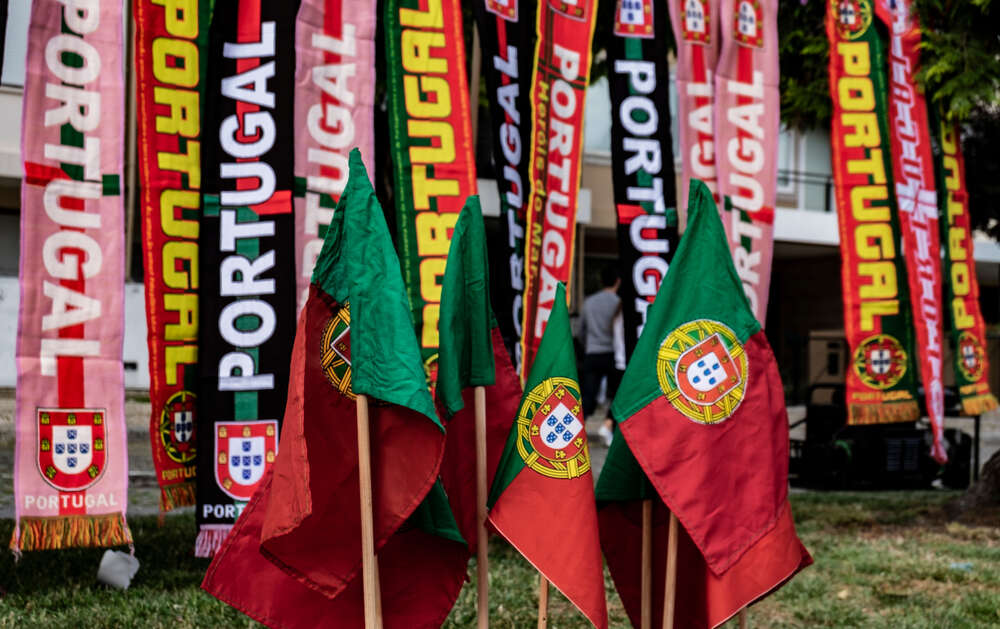 Portugal Flags and Scarfs