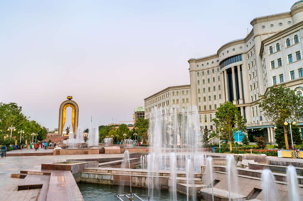 dushanbe fountain